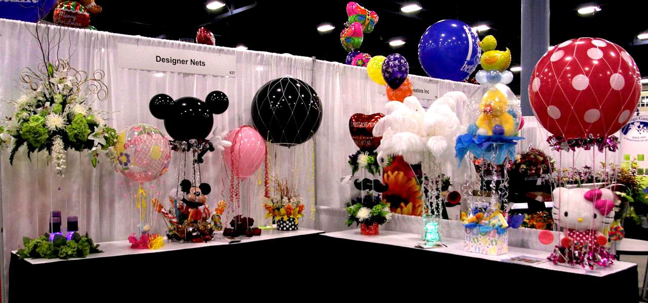 Designer Nets Wholesale Balloon Net Photo Gallery