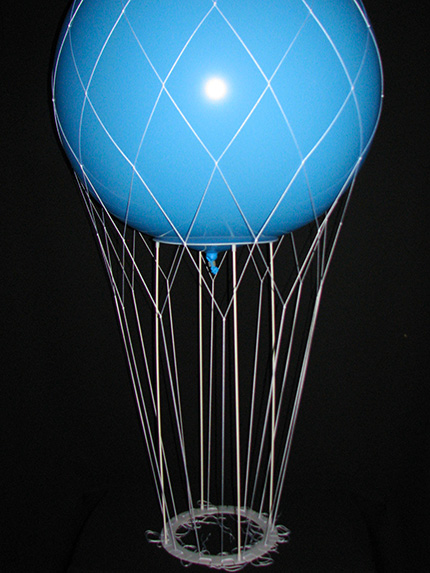 Designer nets wholesale balloon stands kits for Balloon nets for centerpieces